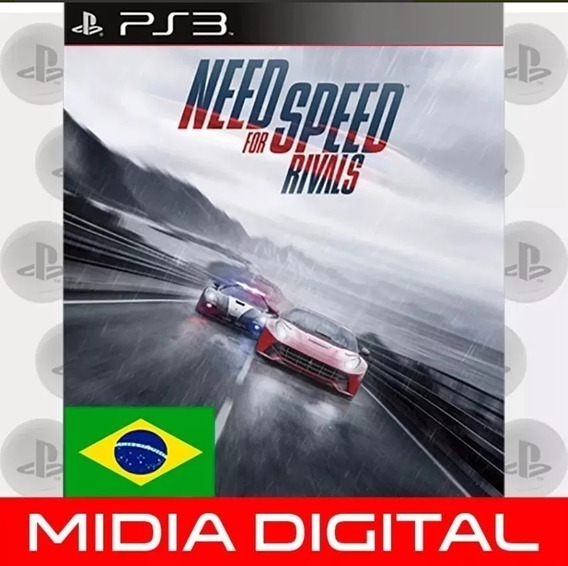 Need For Speed Rivals Ps3 Psn Midia Digital Em 10 Minutos!