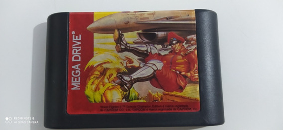 Street Fighter 2 Special Champion Edition Mega Drive