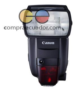 Canon Flash Para Cámaras Profesionales 600ex Ii Rt Speedlite