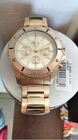 Relógio Technos Original Dourado Frete Grátis