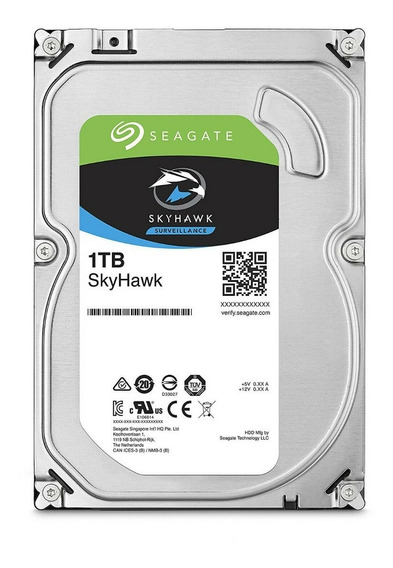 Disco Rigido 1tb Video Cctv Seagate Skyhawk No Purple