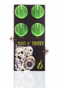 Pedal Fire Dust And Tones Overdrive De Alto Ganho + Frete