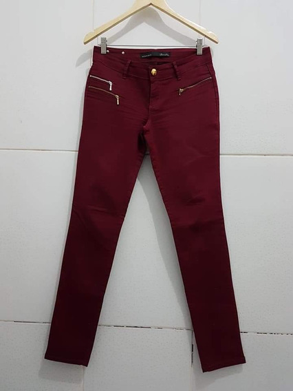 Calça Jeans Skiny Damyller Vinho