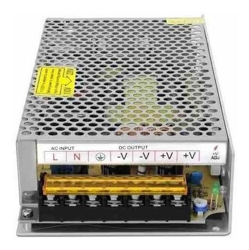 Fonte Chaveada Estabilizada 5v 30a 150w Bi-volt