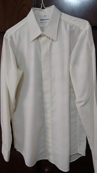 1f9bdb062a82 Camisa De Hombre De Vestir Monaco - Ropa y Accesorios en Mercado ...