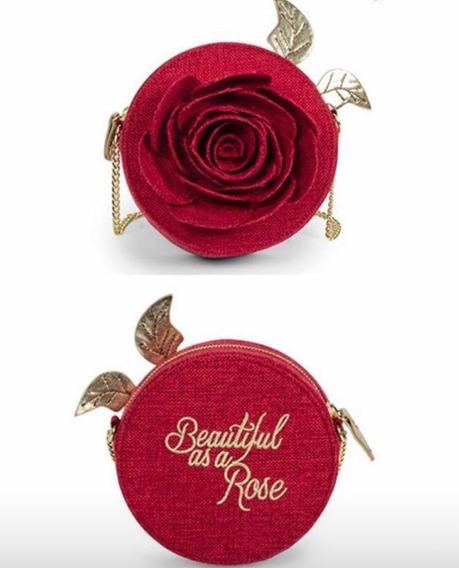 Bolsa Rosa Disney (bela E Fera) Assinada Por Danielle Nicole