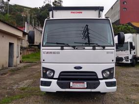 Ford Cargo 816 Ano 2016 Completo Unico Dono Bau Sider