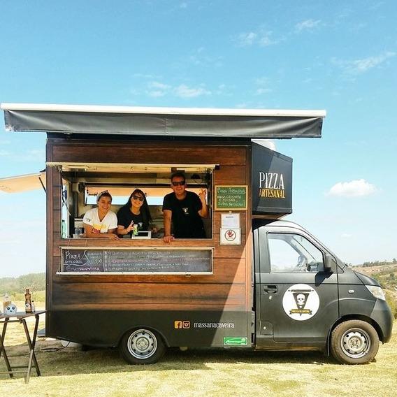 Bau Comercio Gl Food Truck Marca Bumerangue Sob Encomenda