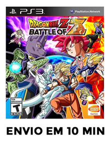 Dragon Ball The Battle Of Z Ps3 Psn Envio Agora