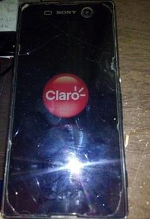 Sony Xperia M5 Smartphone Com Defeito Para Retirada De Peças