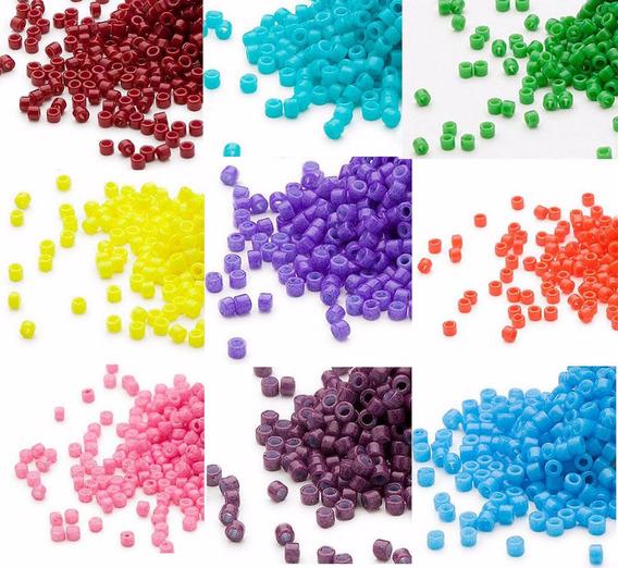 Delica Miyuki 11 / 0 Lote 10 Tubos 7.2 Gr Colores
