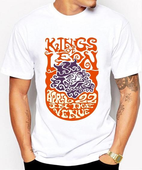 Nuevas Playeras Para Caballero Kings Of Leon Banda De Rock
