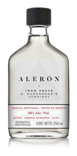 Imagen 1 de 7 de Mezcal Aleron - Agave Cenizo - 250 Ml | 1 Botella