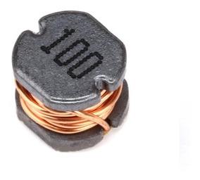 05 Indutor Smd 10uh Cd54 5*5*4mm Bobina
