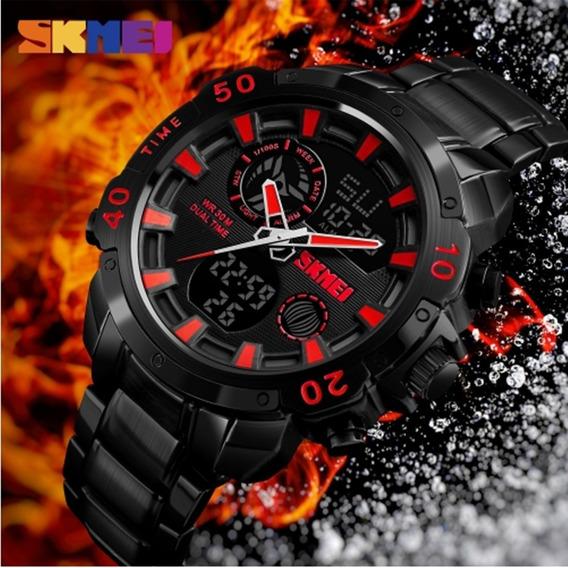 Relógio Masculino Skmei 1306 Original Quartzo Frete Grátis