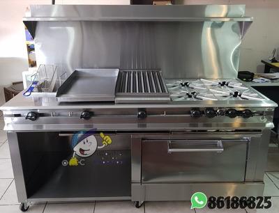 Equipos De Gas Cocinas Planchas Parrillas