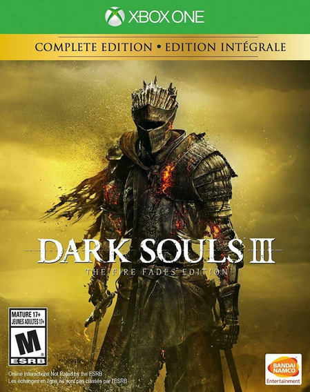 Dark Souls 3 The Fire Fades Edition Xbox One Midia Física