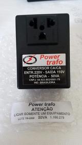 Conversor Ca/ca Power Trafo 50va Usado!