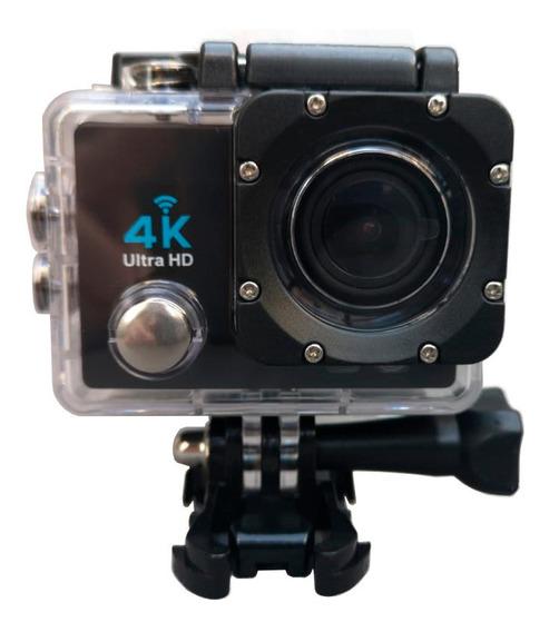 Câmera De Ação Action Pro Sport 4k Wifi Mergulho