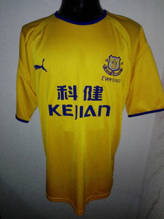 Everton 2004 Visita (125 Aniversario) Talla Xl Puma