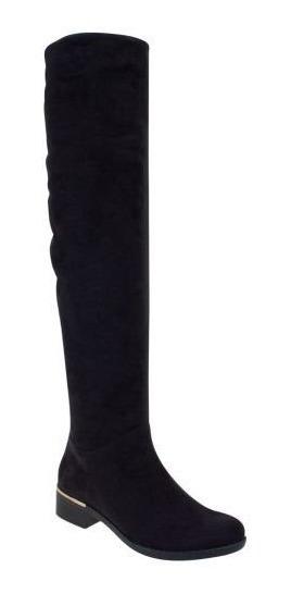 Botas Extra Largas Altura 4.5 Cm Color Negro