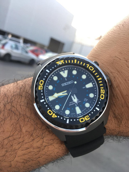 Relógio Seminovo Seiko Kinetic Gmt 200m Sun021 Black Friday