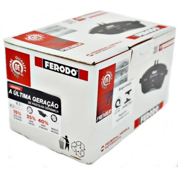 Kit Pastilha Freio Dianteira E Traseira Cerâmica Ferodo Citroen Ds3 1.6 Thp Peugeot 208 Gt 1.6 Thp 2008 1.6 Thp