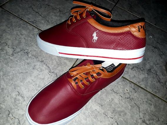Zapatillas Importadas Polo Bordo N 43.