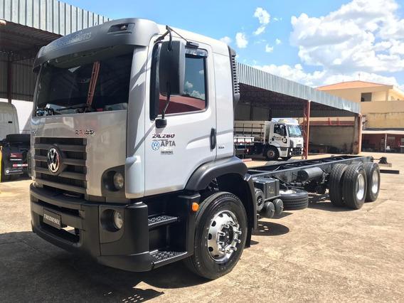 Caminhão Truck Vw 24280 2013 Chassi