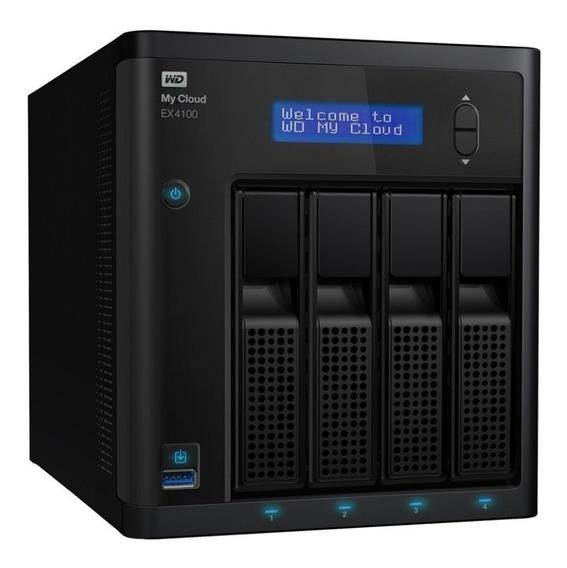 Storage Wd Nas My Cloud Ex4100 Wdbwze0000nbk-nesn