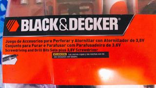 Kit Atornillador 3.6v Black Decker