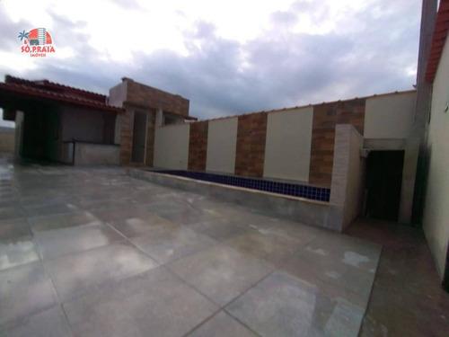 Imagem 1 de 14 de Casa À Venda, 90 M² Por R$ 295.000,00 - Tupy - Itanhaém/sp - Ca5245