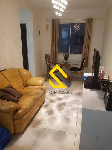 Imagem 1 de 13 de Apartamento Com 2 Dormitórios À Venda, 47 M² Por R$ 200.000,00 - Condomínio Parque Sicília - Votorantim/sp - Ap0658