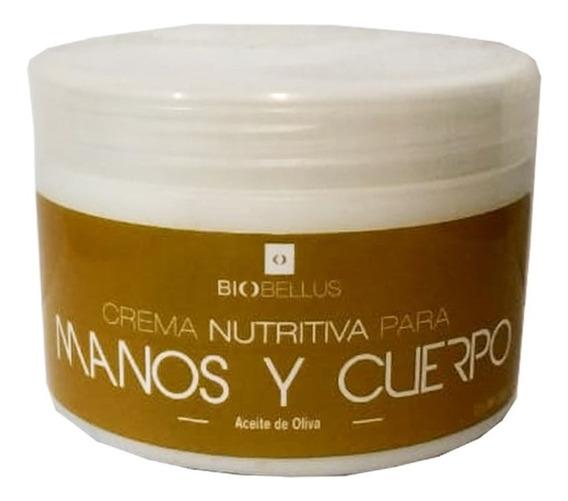 Crema Nutritiva Manos Piel Biobellus Cosmetología 250gr