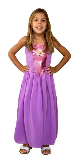 Disfraz De Rapunzel Linea Economica Licencia Disney Original