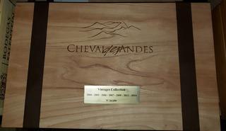 Vino Cheval Des Andes Añada 04/05/06/07/09/12/14 Liniers