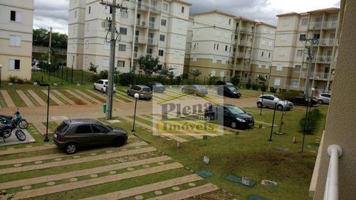 Imagem 1 de 30 de Apartamento Com 3 Dormitórios À Venda, 66 M² Por R$ 275.600,00 - Parque Euclides Miranda - Sumaré/sp - Ap1092