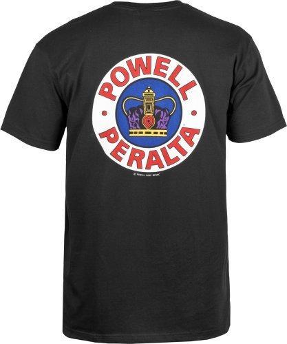 Camiseta Supreme Powell-peralta (grande, Negra)