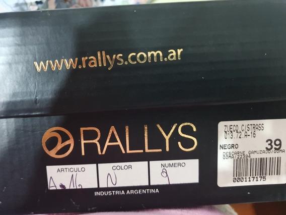 Zueco Con Strass Marca Rallys Nro 39