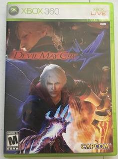 Devil May Cry 4 Xbox 360 Seminuevo