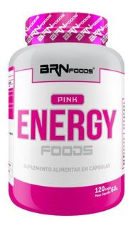 Pink Energy Foods 120 Cápsulas Brnfoods