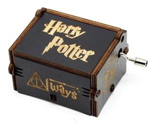Caja Musical Harry Potter Cajita De Música Varita Magica