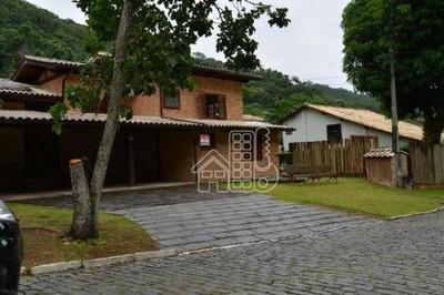 Casa Com 4 Dormitórios Para Alugar, 300 M² Por R$ 4.000/mês - Itaipu - Niterói/rj - Ca0850