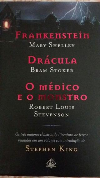 Livro Frankenstein Drácula O Médico E O Monstro