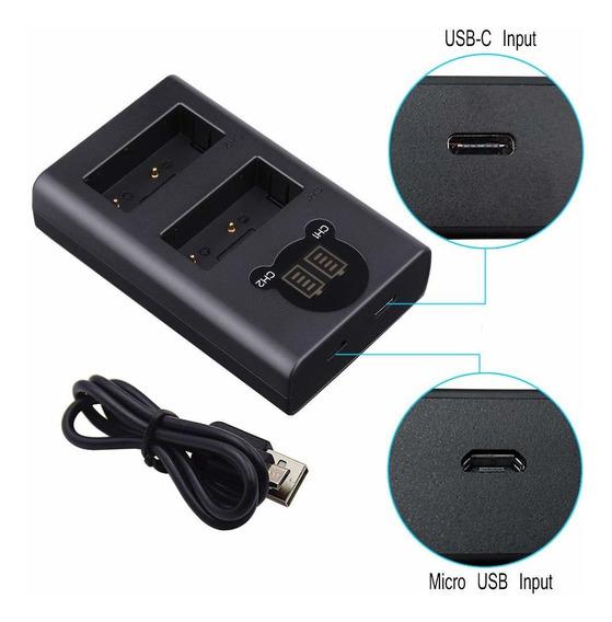 Duplo Carregador Dl Np-bx1 Para Sony Dsc-rx1, Dsc-rx100