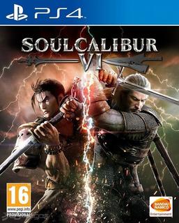 Ps4 Soul Calibur Vi, Nuevo Sellado