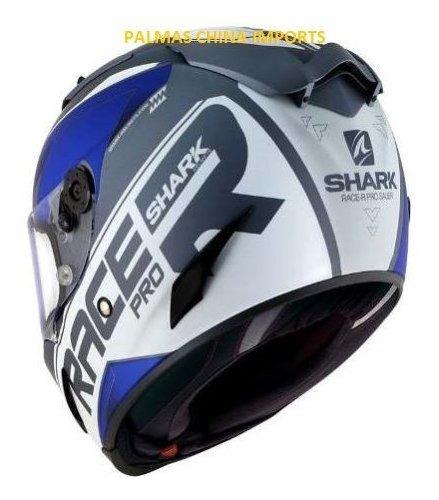 Capacete Shark Race-r Pro Sauer Matt Awb Lancamento