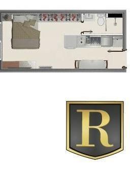 Apartamento Para Venda Em Guarapuava, Centro, 1 Dormitório, 1 Banheiro - Ap-0001_2-1053070