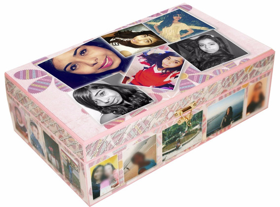 Caixa De Jóias Bijus Make Personalizada 6276 Namorados