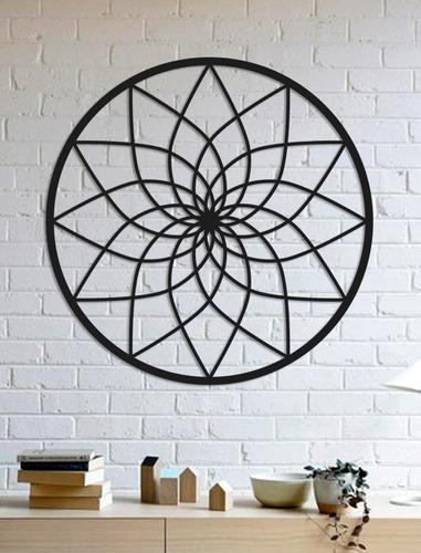 Imagem 1 de 2 de Quadro Decorativo Parede Esotérico Mandala 02 90cm